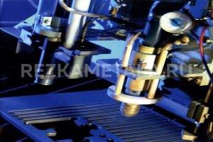 Резка металла гидроабразивной резкой