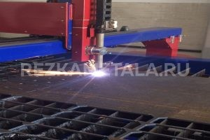 Резка металла под 45 градусов в Казани