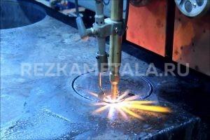 Резка металла фрезерным станком в Казани