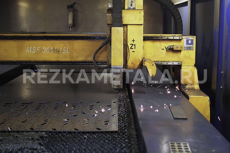 Приемы резки металла в Казани